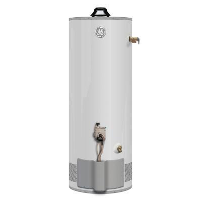 Ge 40 Gallon Fvir Natural Gas Short Water Heater