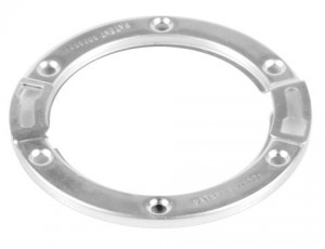 The Oatey Moss Bay Replacement Flange is a great product for replacing rusted out steel rings on PVC/ABS closet flanges