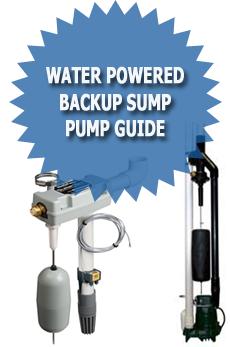 Water Powered Backup Sump Pump Guide