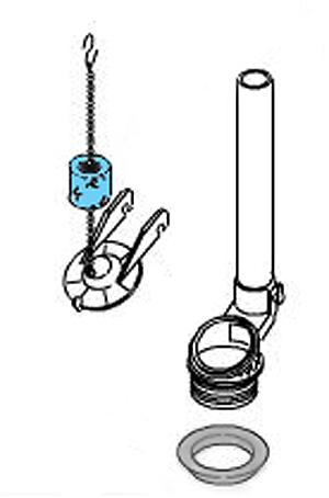 Replacing A Flapper On Kohler Ingenium Flushing System Toilets